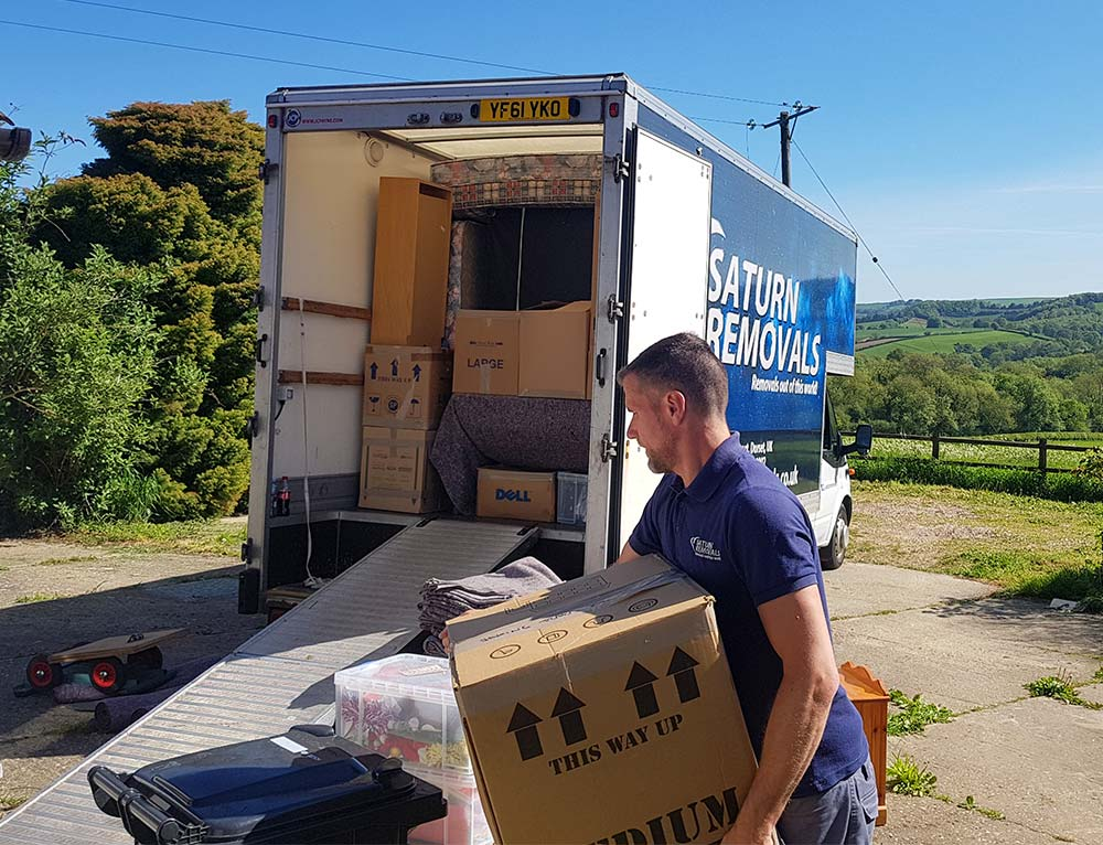 Saturn Removals offer a packing service before a house removal