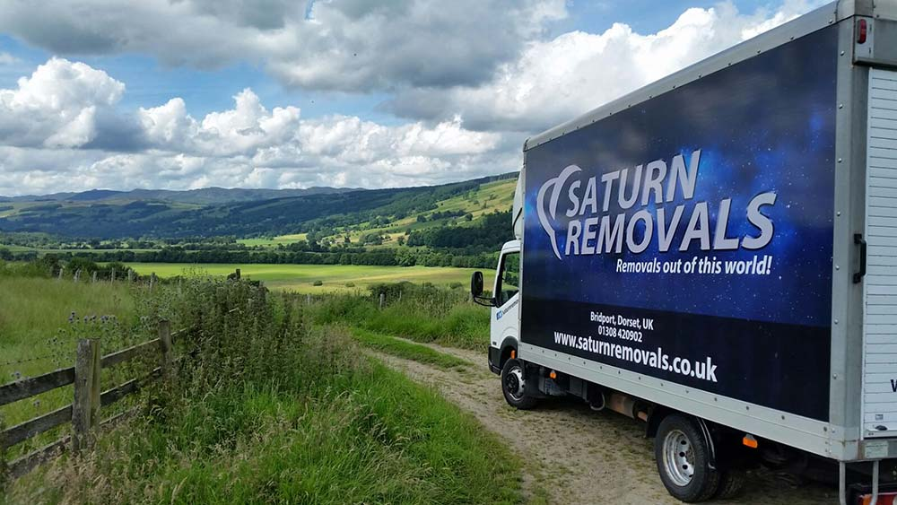 Saturn Removals - light haulage and removals service in Dorset, Devon and Somerset
